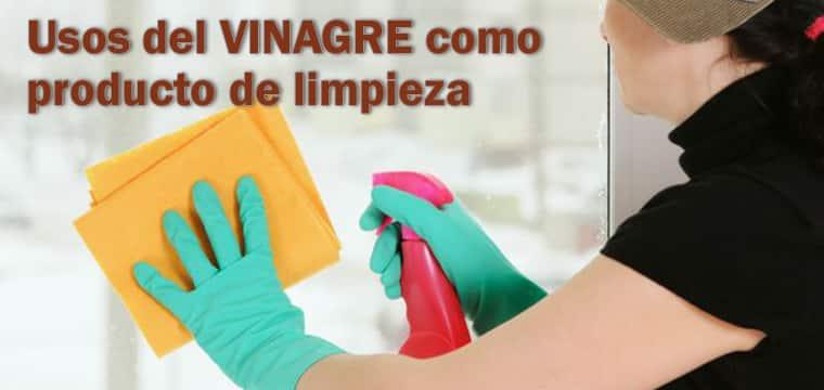 Usos del VINAGRE para limpiar el hogar