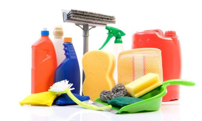 Productos de limpieza naturales para el hogar y la ropa