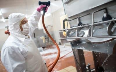 Limpieza e higiene en el sector alimentario