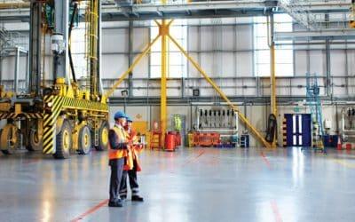 Actuamos con efectividad y rapidez en la limpieza de naves industriales