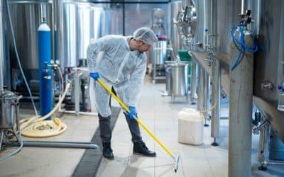 En neteja industrial som la seva solució